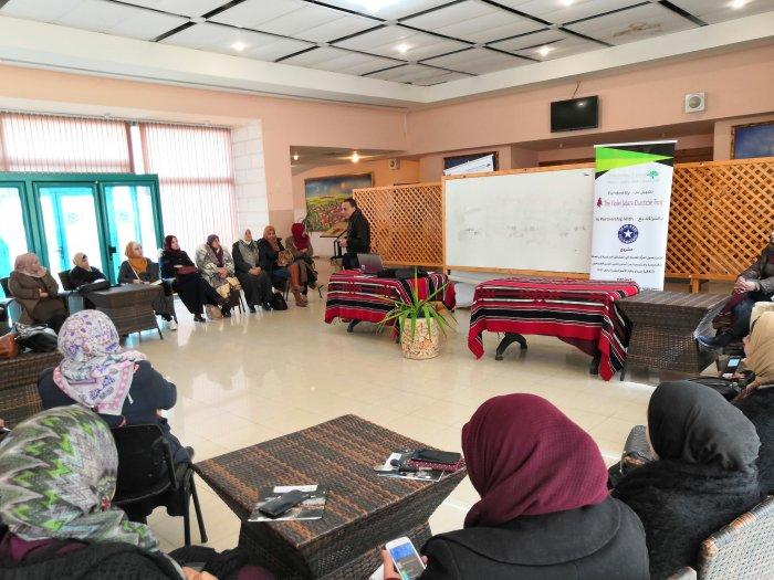 المركز الفلسطيني للاتصال والسياسات التنموية  | بدعم من Jabra Trust    المركز الفلسطيني ينفذ ورشة عمل (الجسر 5'8 )