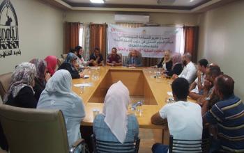 المركز الفلسطيني للاتصال والسياسات التنموية  | المركز الفلسطيني يعقد ورشة عمل في بلدية بيت أمر
